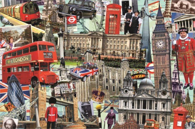 Puzzle JUMBO 18366 Best of... London 1500 dílků