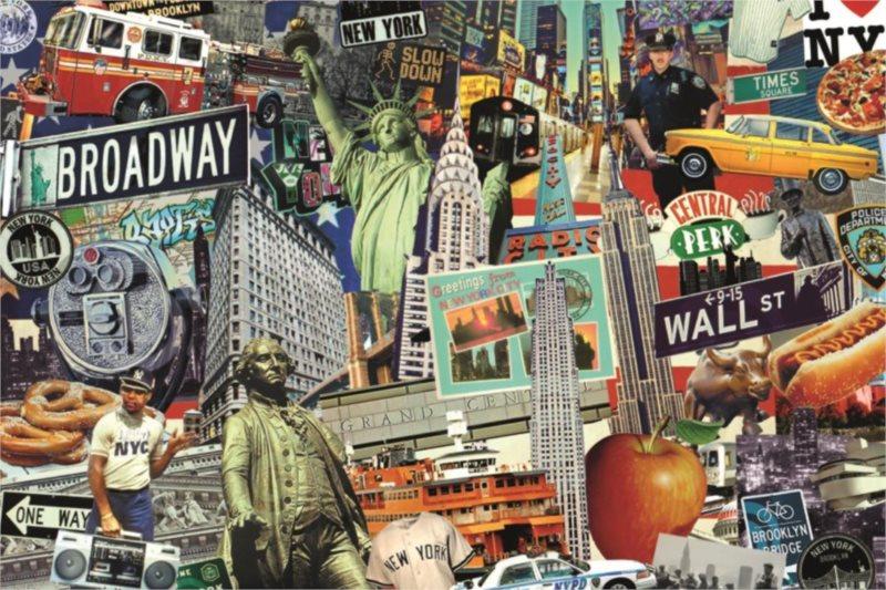JUMBO Puzzle Best of... New York 1500 dílků