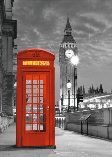 Puzzle RAVENSBURGER 1000 dílků - Big Ben, Londýn