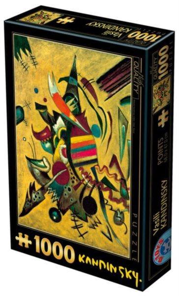Puzzle D-TOYS 72849 W. Kandinsky: Body 1000 dílků