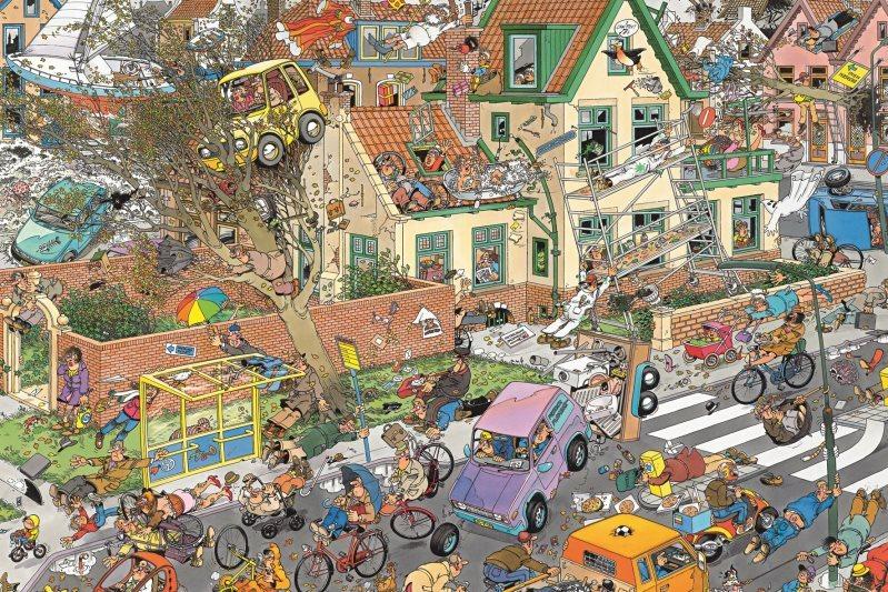 JUMBO Puzzle Bouře 1500 dílků