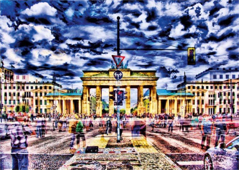 Puzzle SCHMIDT 1000 dílků - Braniborská brána, Berlín