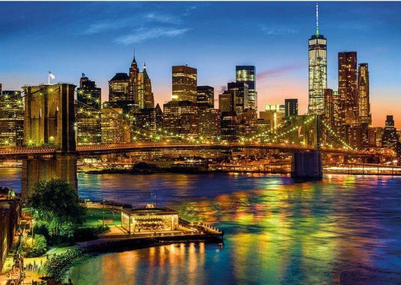 Puzzle DINO 1500 dílků - Brooklynský most, New York, USA