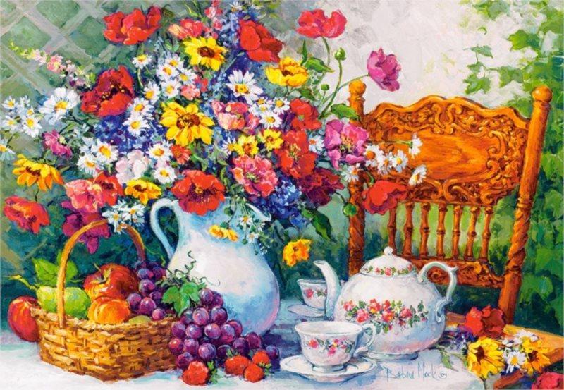 CASTORLAND Puzzle Čaj o páté 1000 dílků