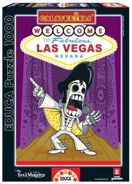 2f7fd66afc5 EDUCA Puzzle CALAVERITAS  Las Vegas 1000 dílků
