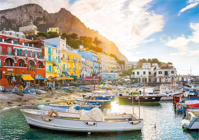 CLEMENTONI Puzzle Capri, Itálie 1500 dílků