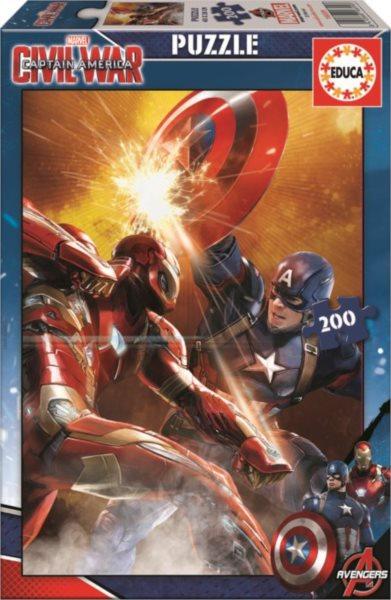 EDUCA Puzzle Captain America: Občanská válka 200 dílků
