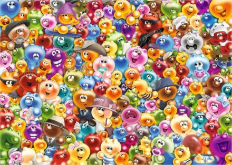 RAVENSBURGER Puzzle Challenge: Gelini 1000 dílků