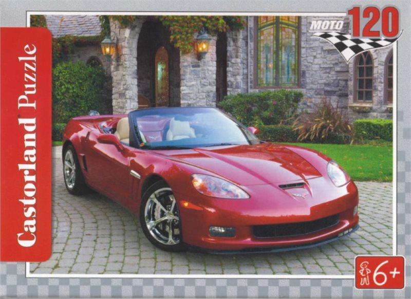 CASTORLAND Puzzle Chevrolet Corvette ZR1 120 dílků