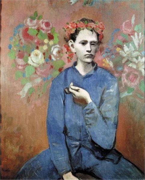 Puzzle EDITIONS RICORDI 1000 dílků - P. Picasso: Chlapec s dýmkou