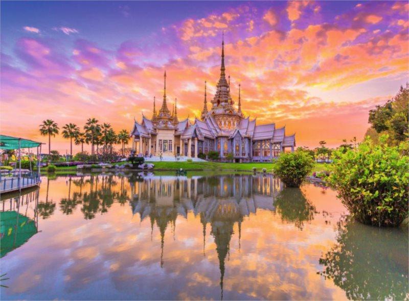 Puzzle RAVENSBURGER 500 dílků - Chrám Wat Thai