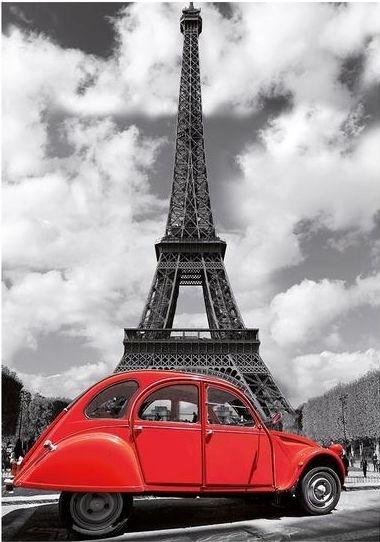 DINO puzzle 500 dílků - Citroën u Eiffelovy věže