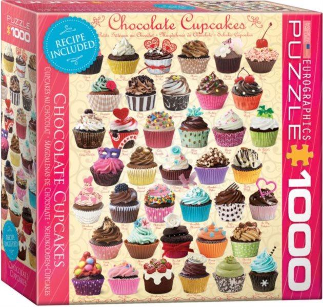 Puzzle EUROGRAPHICS Čokoládové dortíky (Cupcakes) 1000 dílků