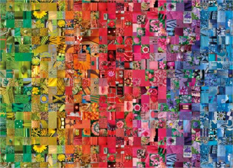 CLEMENTONI Puzzle ColorBoom: Koláž 1000 dílků