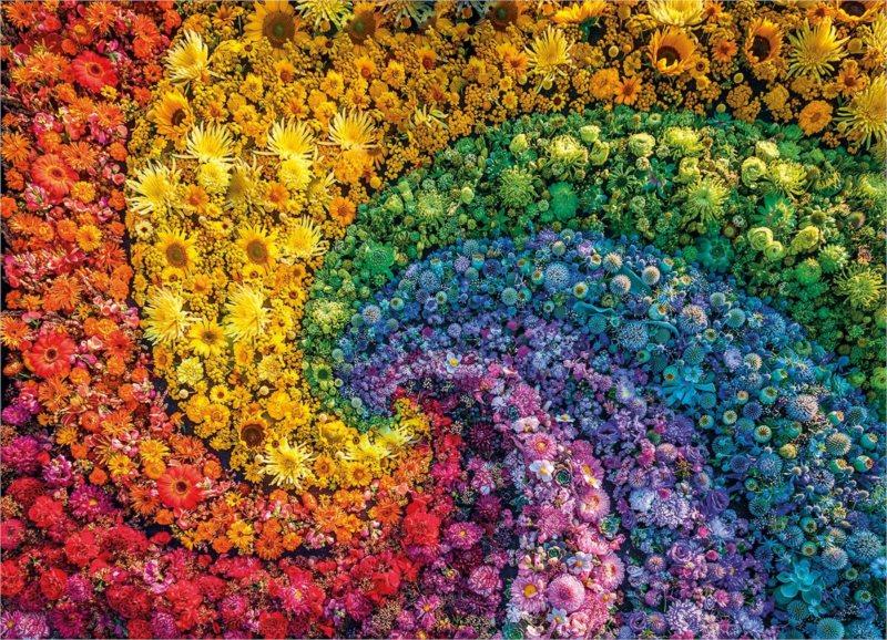CLEMENTONI Puzzle ColorBoom: Vír 1000 dílků