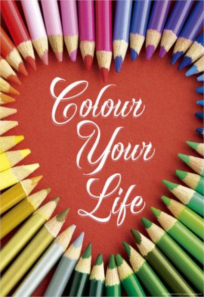 EDUCA Puzzle Colour Your Life 500 dílků