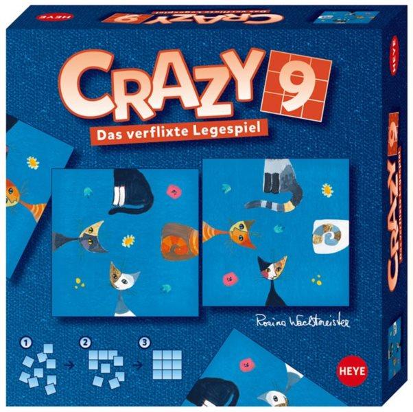 HEYE Puzzle Crazy9 Kočky