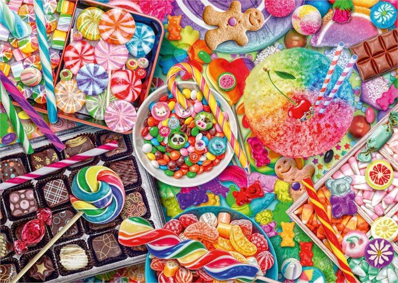 SCHMIDT Puzzle Cukrovinky 1000 dílků