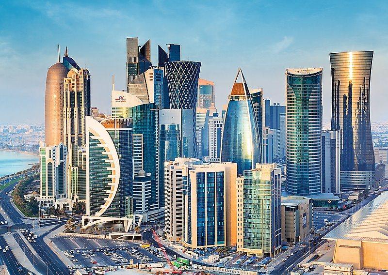 TREFL Puzzle Dauhá, Katar 2000 dílků