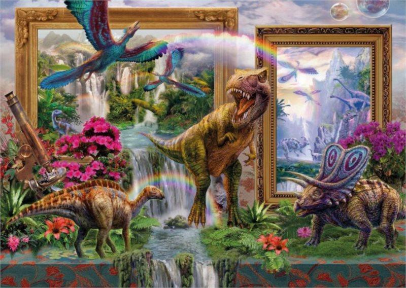 Puzzle SCHMIDT Dinosauři ožívají 1000 dílků
