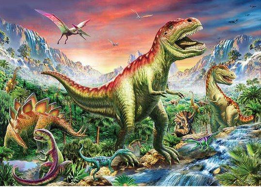 Dětské puzzle DINO 180 dílků - Dinosauři XL