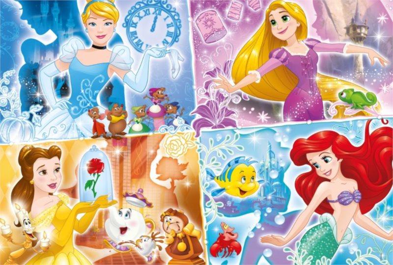 CLEMENTONI Puzzle Disney princezny: Barevné světy 250 dílků