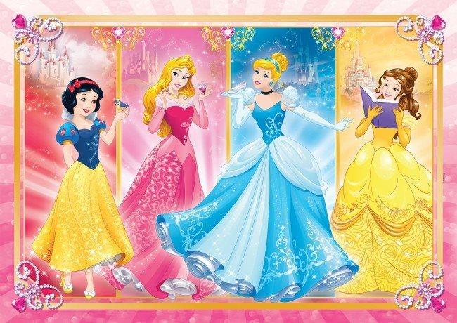 CLEMENTONI Puzzle Disney Princezny MAXI 24 dílků