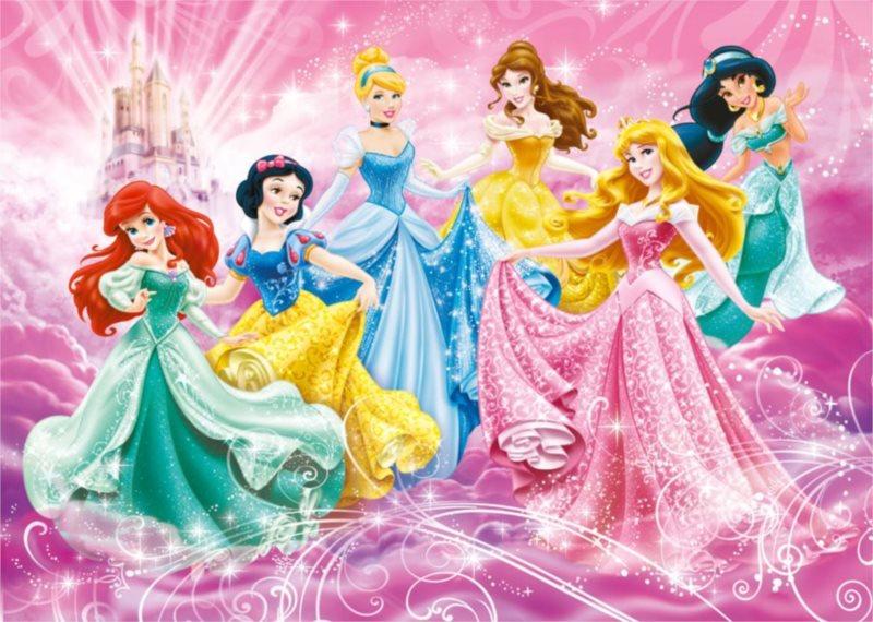 CLEMENTONI Puzzle Disney princezny FLOOR 40 dílků