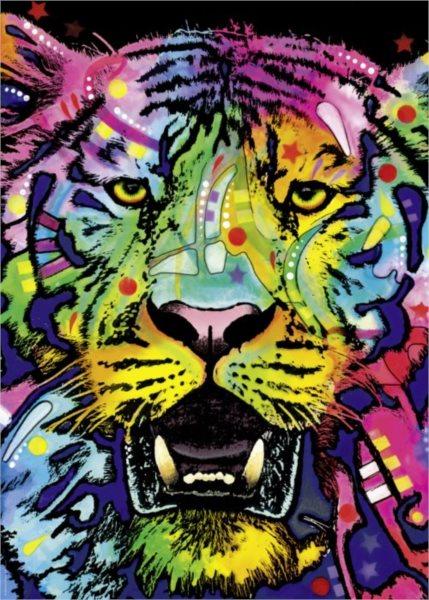 Puzzle HEYE 29766 Divoký tygr 1000 dílků
