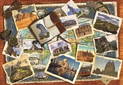 Puzzle JUMBO 18588 Divy světa 2000 dílků