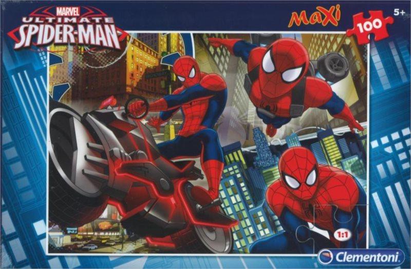 CLEMENTONI Puzzle Dokonalý Spiderman MAXI 100 dílků