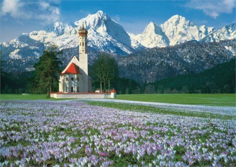 Puzzle CLEMENTONI 1000 dílků - Dolomity