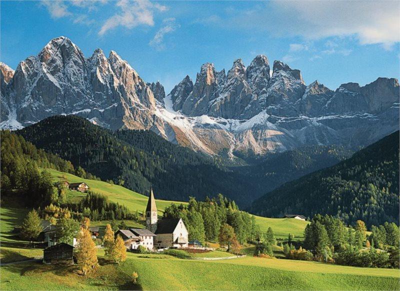Puzzle RAVENSBURGER 1500 dílků - Dolomity, Itálie