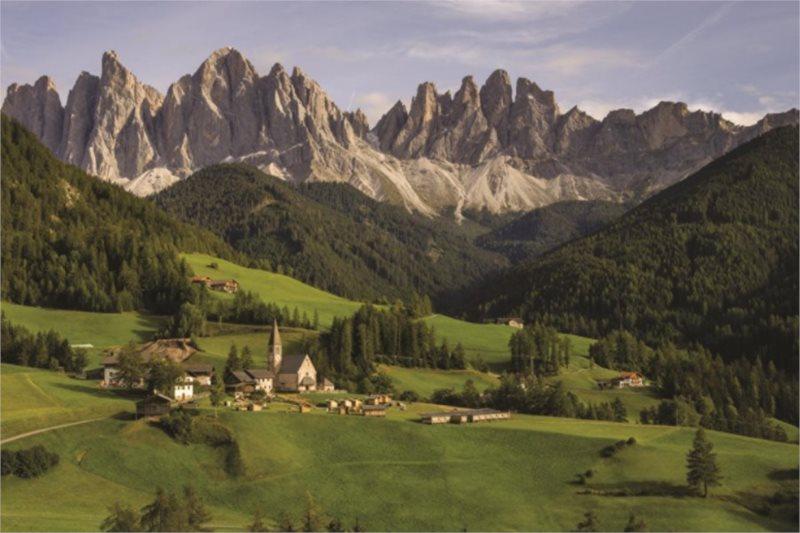 Puzzle JUMBO 18580 Dolomity, Itálie 1500 dílků