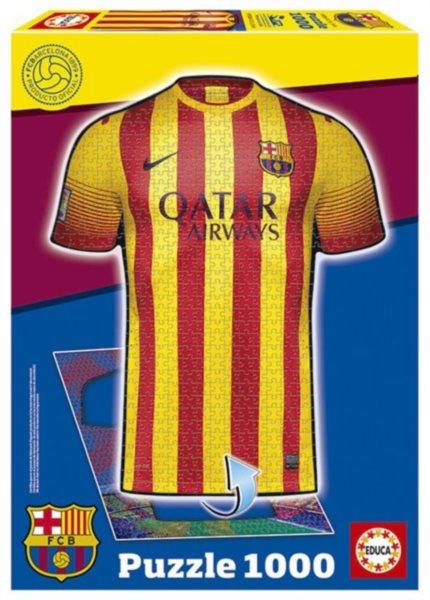 EDUCA Puzzle Dres FC Barcelona 1000 dílků