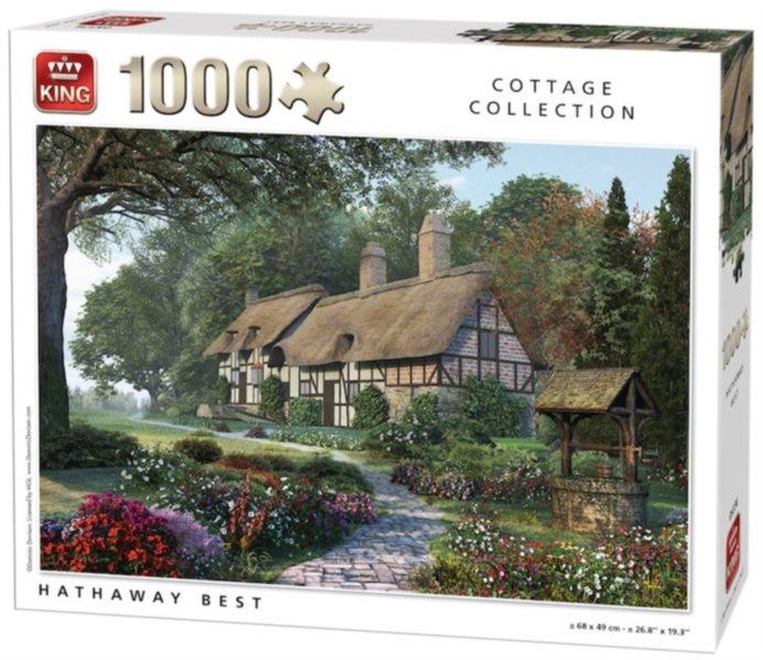 KING Puzzle Dům Anne Hathaway 1000 dílků