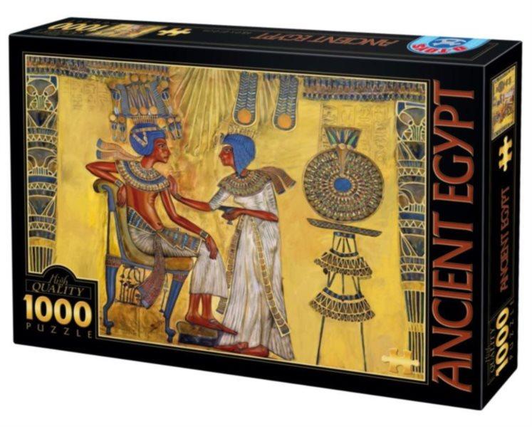 Puzzle D-TOYS 65971 Egyptská freska 1000 dílků