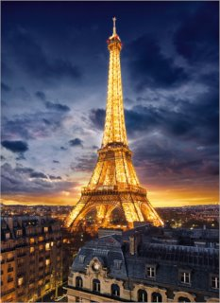 CLEMENTONI Puzzle Eiffelova věž 1000 dílků