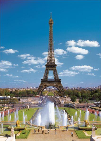 TREFL Puzzle Eiffelova věž, Paříž 2000 dílků