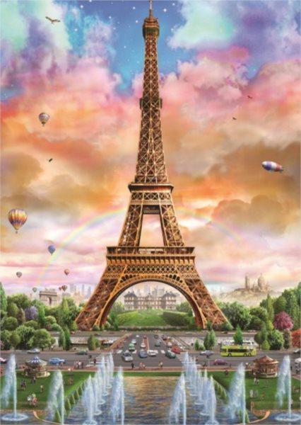 JUMBO Puzzle Eiffelova věž, Paříž 500 dílků