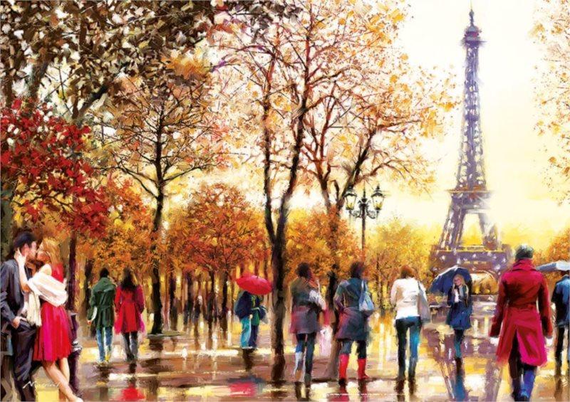 EDUCA Puzzle XXL Eiffelova věž 300 dílků