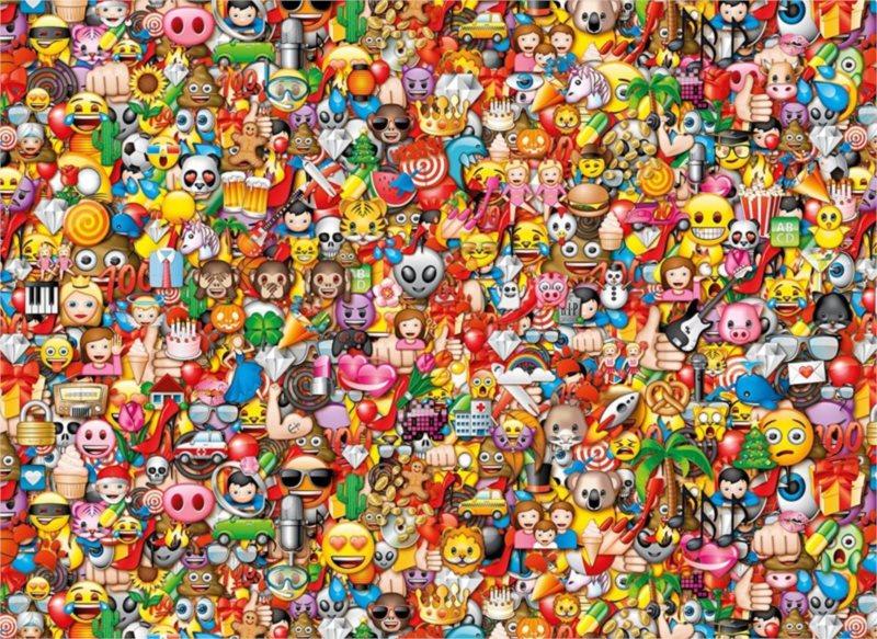 CLEMENTONI Puzzle Emoji: Impossible 1000 dílků