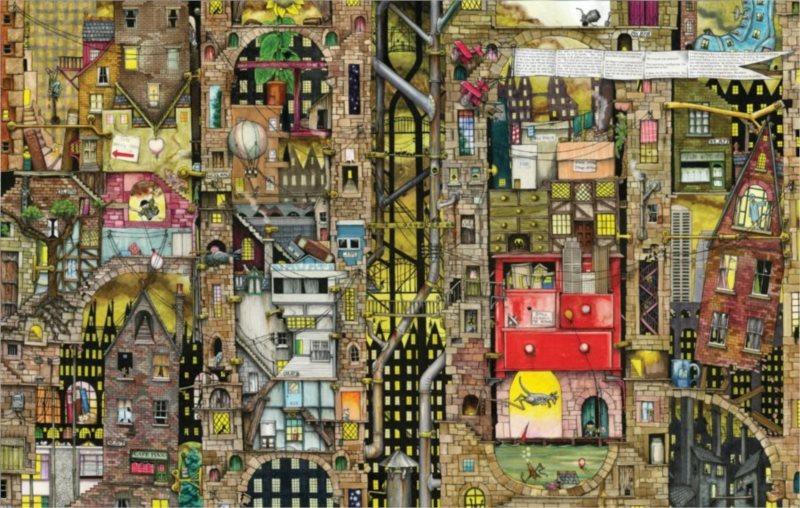 Puzzle SCHMIDT 1000 dílků - Fantastické město