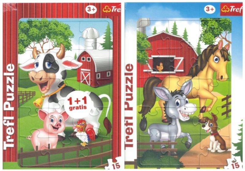 TREFL Puzzle Farma 2x15 dílků