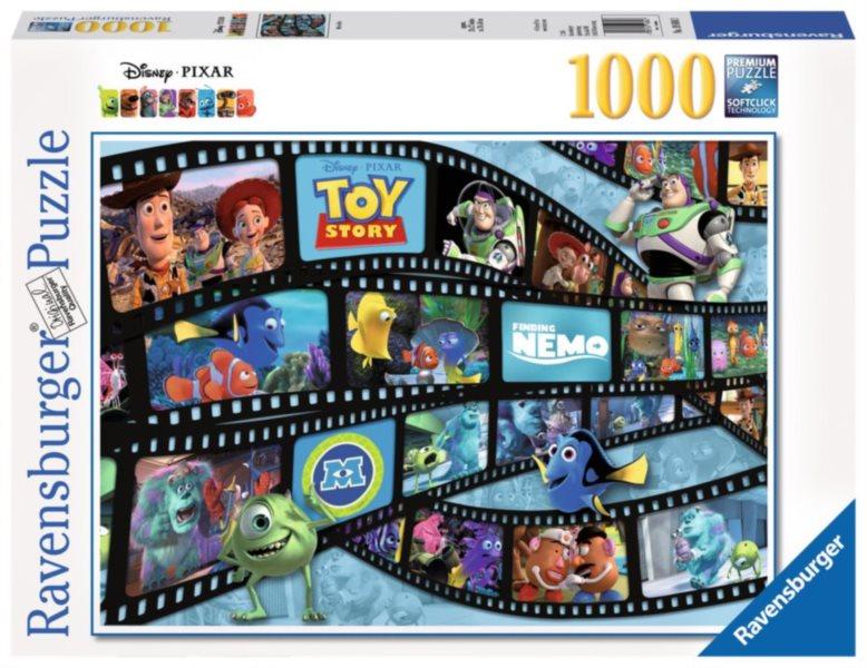 RAVENSBURGER Puzzle Filmová páska Disney Pixar 1000 dílků