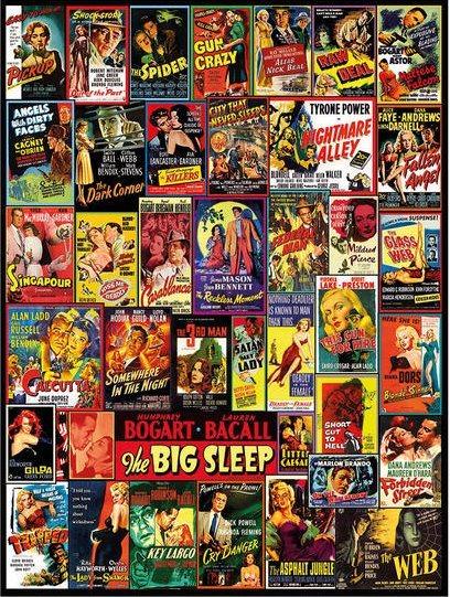 Puzzle DINO 1500 dílků - Filmové plakáty