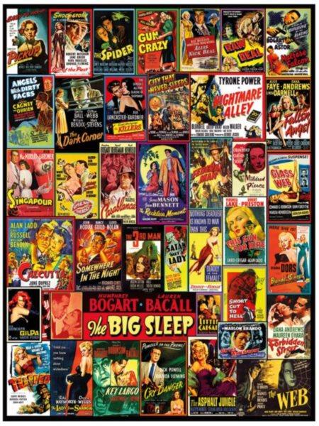 DINO Puzzle Filmové plakáty 2000 dílků