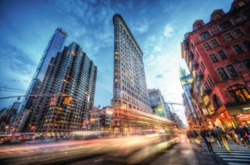 RAVENSBURGER Puzzle Flatiron Building, New York 3000 dílků