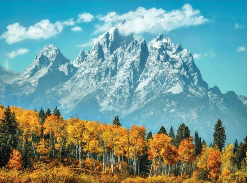 CLEMENTONI Puzzle Grand Teton na podzim 500 dílků
