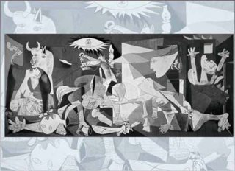 EDITIONS RICORDI Puzzle Guernica 1500 dílků